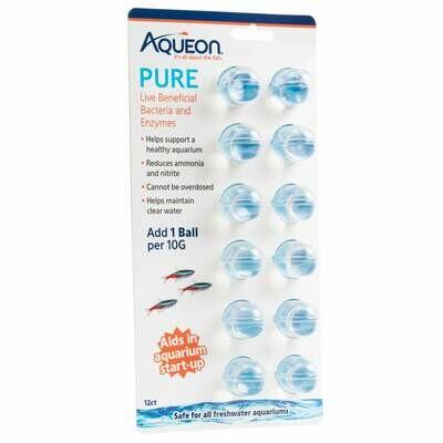 Aqueon Pure Water Supplement 10 Gallon 12PK