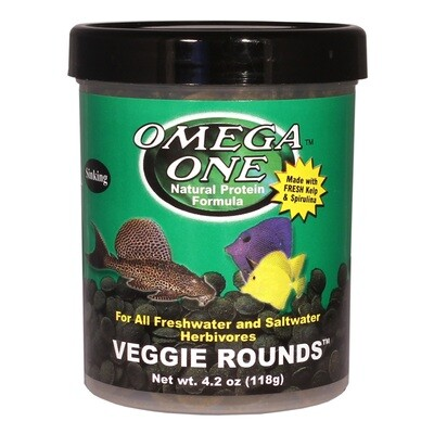 Omega One Veggie Rounds 4.2oz