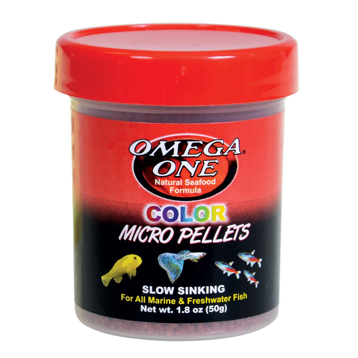 OMEGA ONE COLOUR MICRO PELLETS 1.76OZ