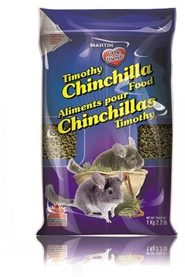 MARTIN LITTLE FRIENDS TIMOTHY CHINCHILLA FOOD 1KG
