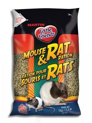 MARTIN LITTLE FRIENDS MOUSE & RAT FOOD 1KG
