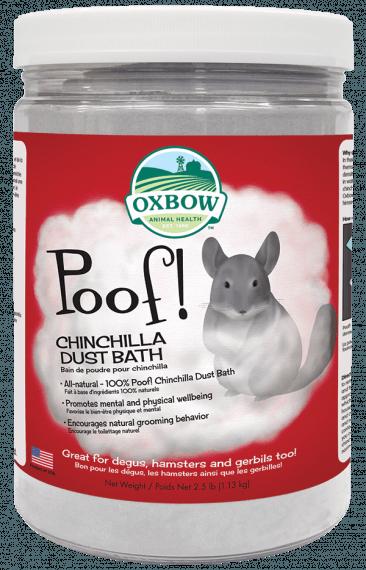 OXBOW POOF! CHINCHILLA DUST BATH