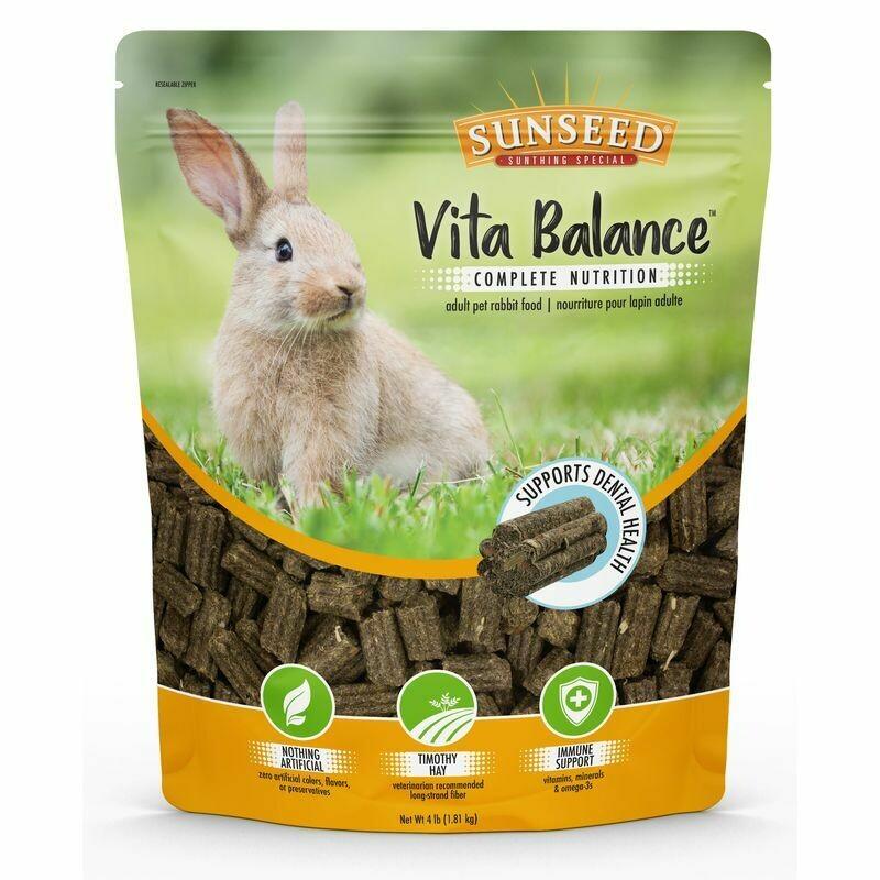 Sunseed Vita Balance Rabbit Food 4 lb
