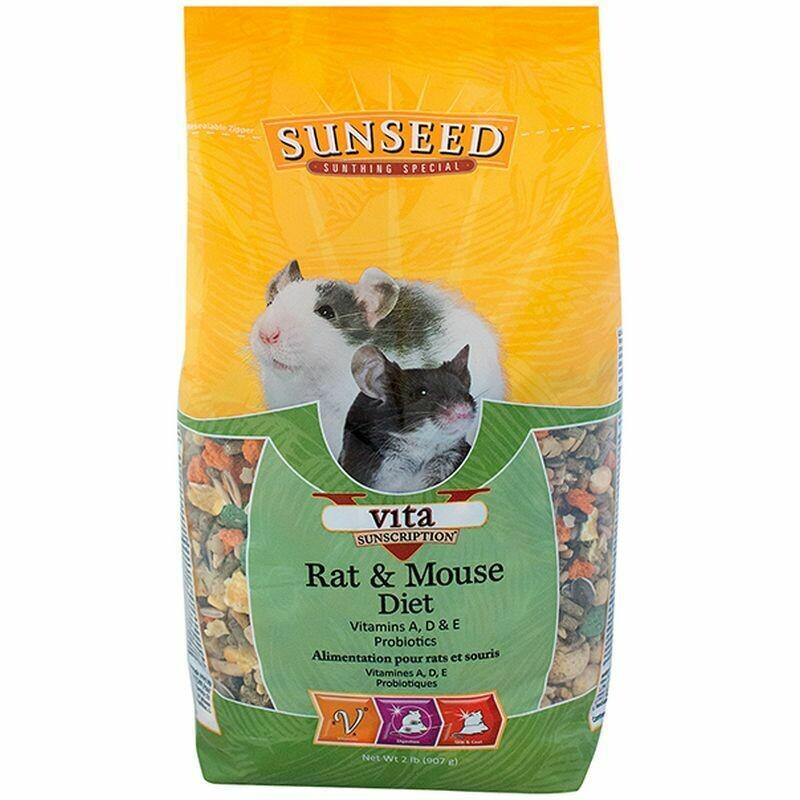 Sunseed Vita Rat & Mouse Food 2.5lb