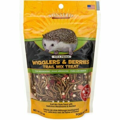 Sunseed Vita Prima Wigglers & Berries Trail Mix Treat 2.5oz