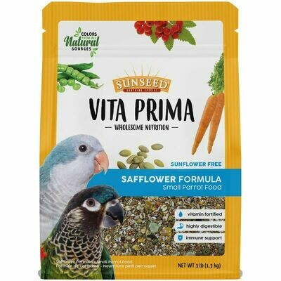 Sunseed Vita Prima Safflower Small Parrot Food 3lb