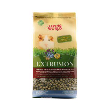 LIVING WORLD EXTRUSION GUINEA PIG FOOD 1.4KG