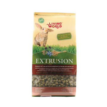 LIVING WORLD EXTRUSION RABBIT FOOD 1.4KG
