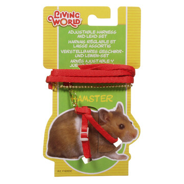 LIVING WORLD FIGURE 8 HARNESS & LEAD SET FOR HAMSTERS