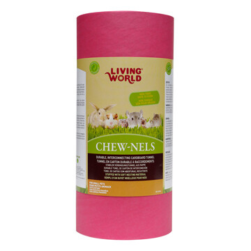 LIVING WORLD CARDBOARD CHEW-NELS MEDIUM