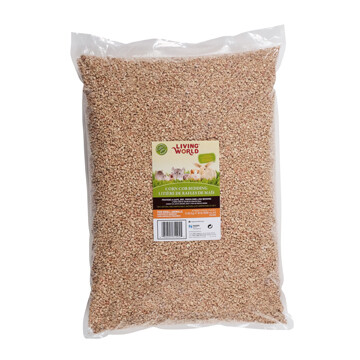 LIVING WORLD CORN COB BEDDING 8LB