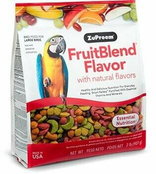 ZuPreem FruitBlend Flavor for Large Birds 3.5LB