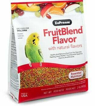 ZuPreem FruitBlend Flavor - Small Bird 14oz