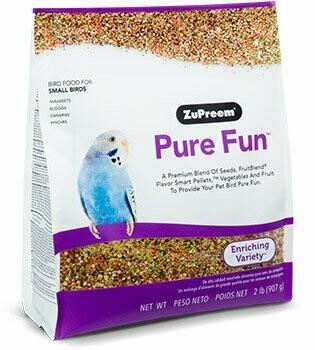 ZuPreem Pure Fun Small Birds 2lbs