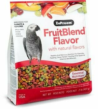 ZuPreem FruitBlend Flavor for Parrots & Conures 3.5LB
