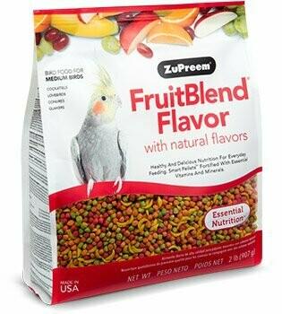 ZuPreem FruitBlend Flavor for Medium Birds 2LB