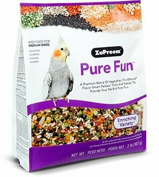 ZuPreem Pure Fun Medium Bird 2lb