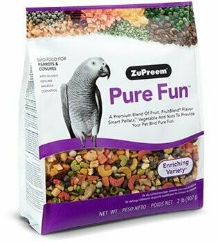 ZuPreem Pure Fun Parrot & Conure 2lb