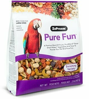 ZuPreem Pure Fun Large Bird 2lb