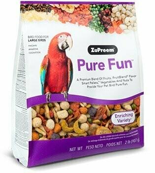 ZuPreem Pure Fun Large Bird 2lb
