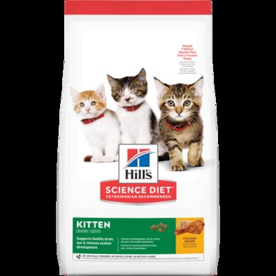 HILL'S SCIENCE DIET CAT - KITTEN 3.5LB