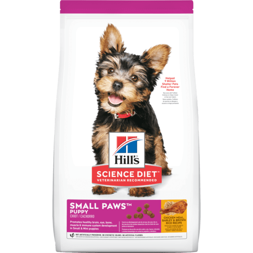 HILL'S SCIENCE DIET PUPPY SMALL PAWS 4.5LB