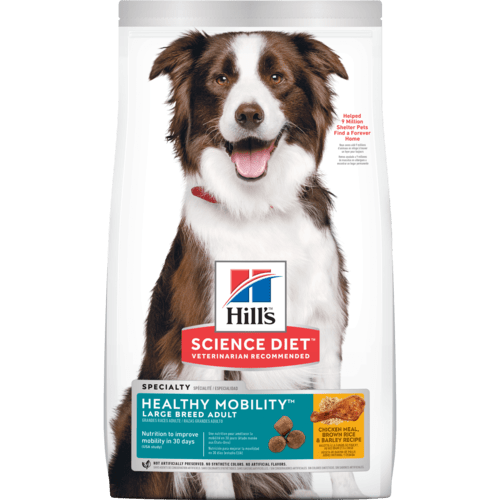 HILL'S SCIENCE DIET ADULT HEALTHY MOBILITY LARGE BREED 30LB