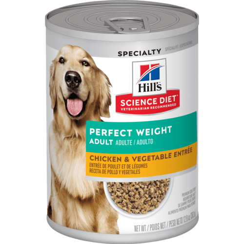 HILL'S SCIENCE DIET ADULT PERFECT WEIGHT VEGETABLE & CHICKEN STEW 12.5OZ