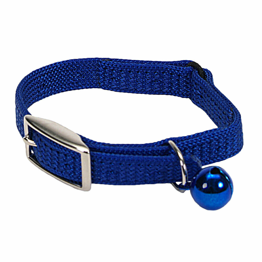 SASSY CAT COLLAR BLUE 12""