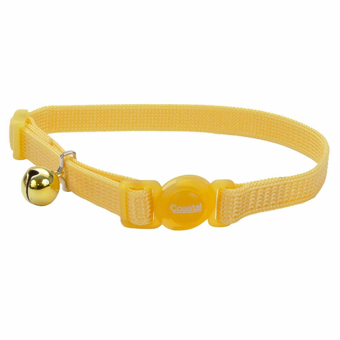 "Safe Cat Collar Breakaway Yellow 12"""