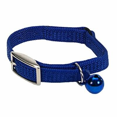 "SASSY CAT COLLAR BLUE 10"""