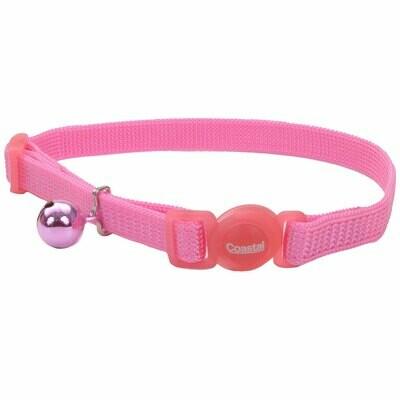 Safe Cat Collar Breakaway Light Pink 12