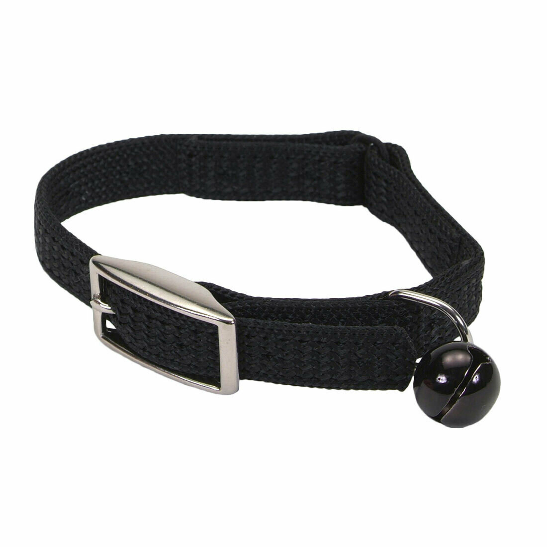 SASSY CAT COLLAR BLACK 8""