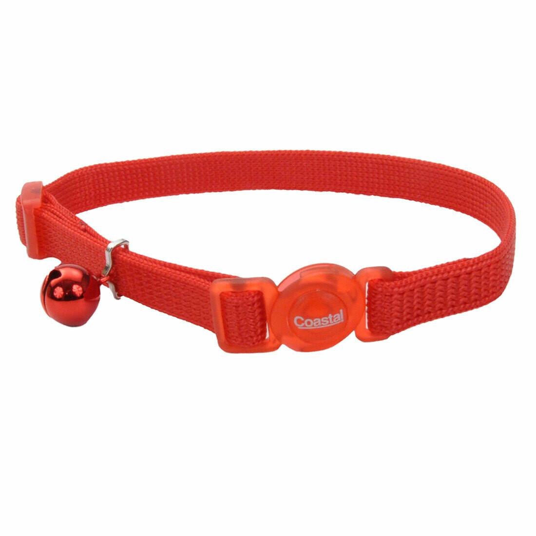 """Safe Cat Collar Breakaway Red 12"""""""