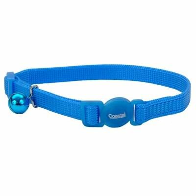 "Safe Cat Collar Breakaway Blue Lagoon 12"""