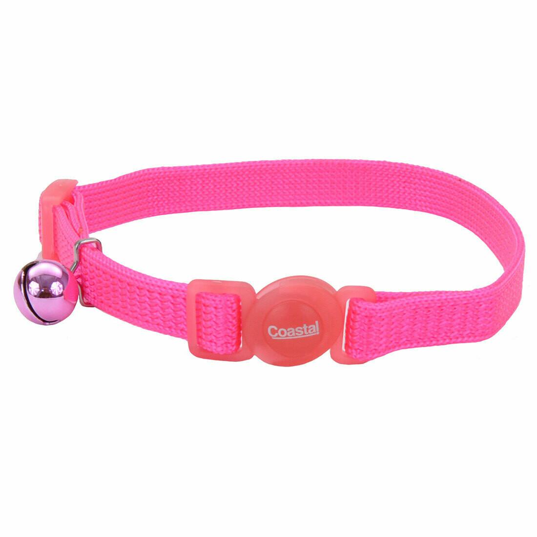 "Safe Cat Collar Breakaway Pink 12"""