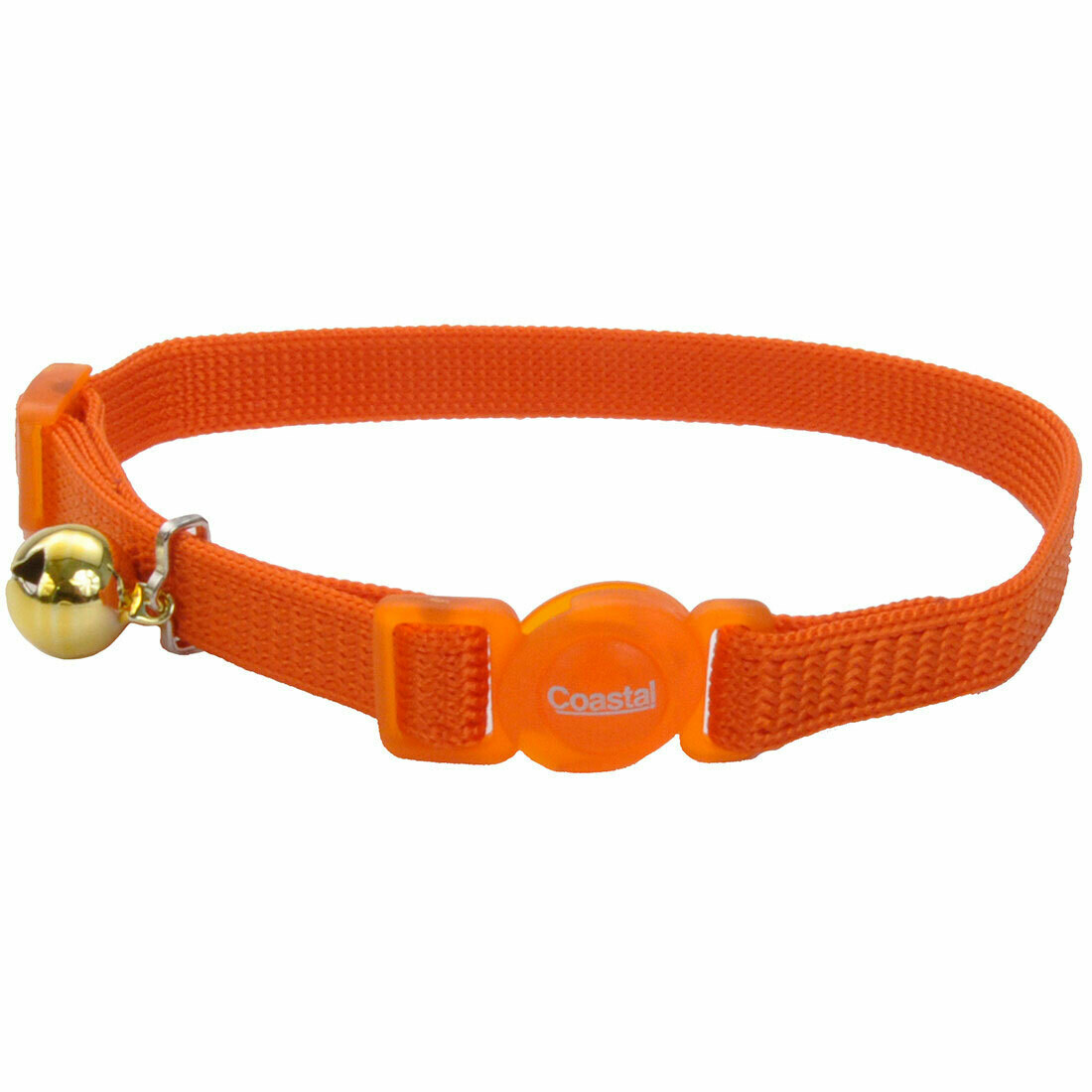 Safe Cat Collar Breakaway Orange 12""