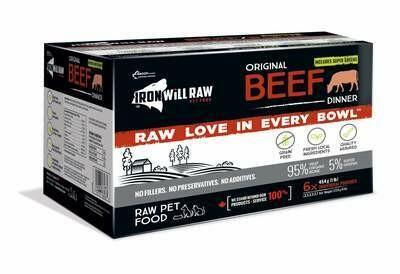 Iron Will Original Beef 6 lb