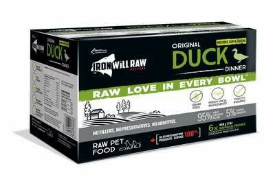 Iron Will Original Duck 6 lb