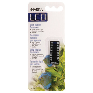 MARINA LCD THERMOMETER - 18 TO 30 CELSIUS
