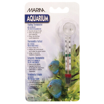 MARINA FLOATING THERMOMETER WITH SUCTION CUPS