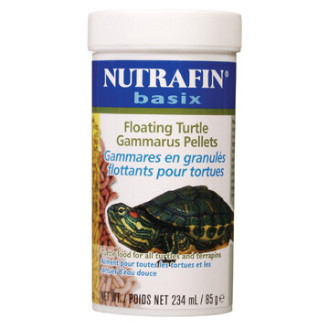 NUTRAFIN basix FLOATING TURTLE PELLETS 85g