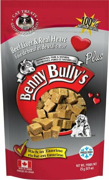 BENNY BULLY'S PLUS HEART FOR CATS 25g