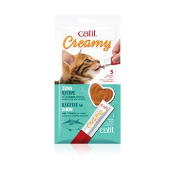 Catit Creamy Lickable Treat - Tuna 5pk