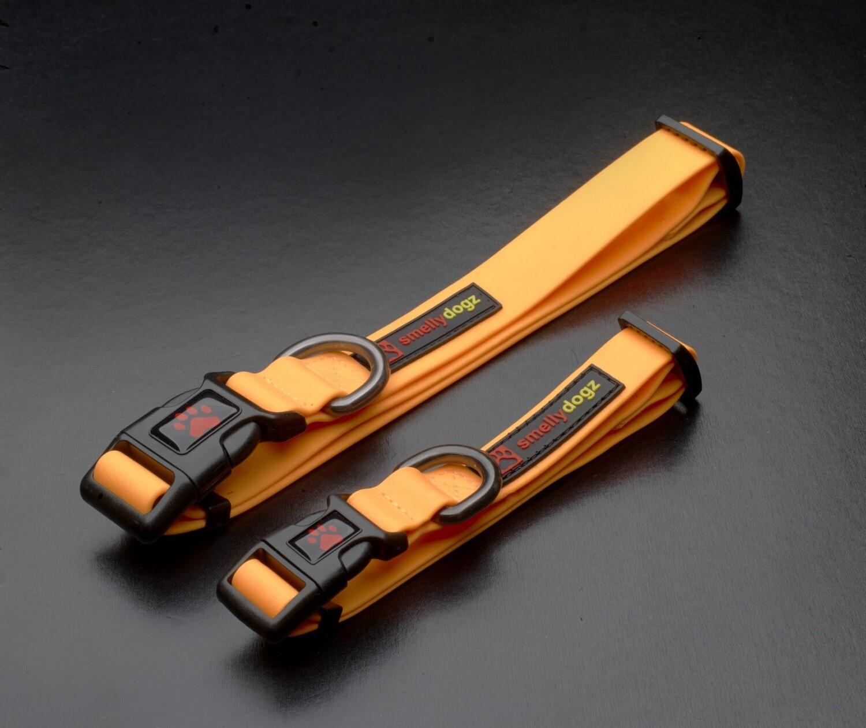 """Smellydogz Collar 3/4"""" Orange"""