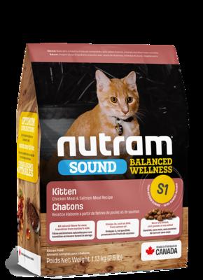 NUTRAM CAT S1 KITTEN 1.8KG