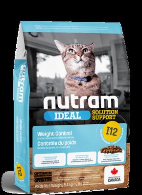 NUTRAM CAT I12 WEIGHT CONTROL 1.8KG
