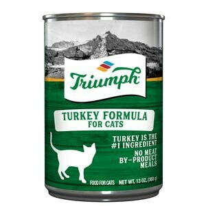 TRIUMPH TURKEY CAT FOOD 13.2 OZ
