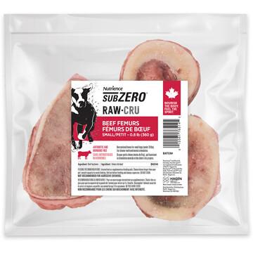 NUTRIENCE SUBZERO RAW BONES - BEEF FEMURS 360g
