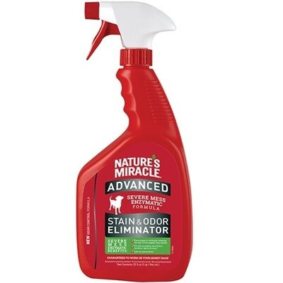 NATURE'S MIRACLE ADVANCED STAIN & ODOUR REMOVER 946ML